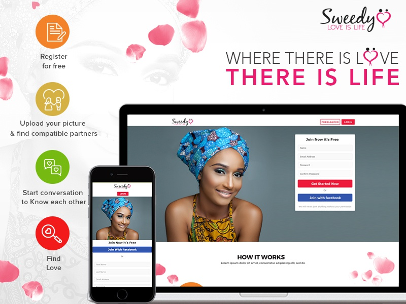 relationships and dating page