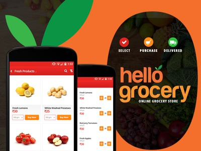 Online Grocery Shopping App product grocery