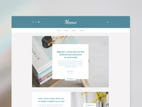 Blog Web Design Template