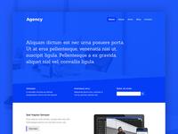 Agency Website Template Design