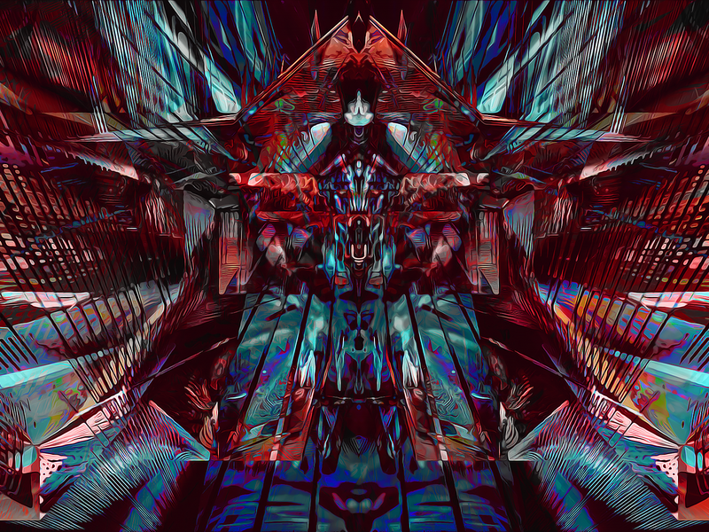 Consequence Horizon obj codeart processing fusion360 3d abstract digitalart ericfickes
