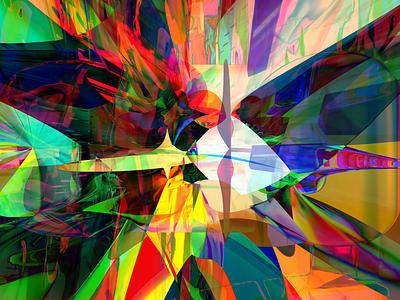 RAD NOT SAD codeart obj processing fusion360 3d abstract digitalart ericfickes