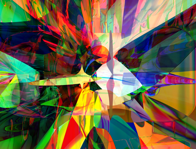 RAD NOT SAD codeart obj processing fusion360 3d abstract digitalart ericfickes
