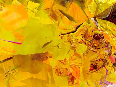 GOLDEN BEHOLDEN golden gold scan selfscan headscan obj fusion360 3d abstract digitalart ericfickes