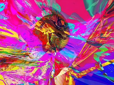 INVOKED obj fusion360 3d abstract digitalart ericfickes