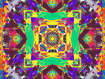 7th STEP kaleidoscope codeart processing abstract digitalart ericfickes