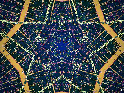 DOT MATRIX kaleidoscope codeart processing abstract digitalart ericfickes