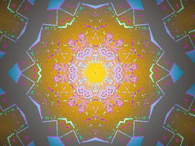 Dot Matrices kaleidoscope codeart processing abstract digitalart ericfickes