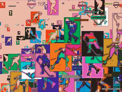 DSHOrangeJuice codeart processing abstract digitalart ericfickes