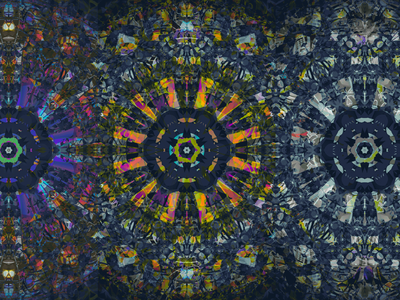 DAJI RE RE kaleidoscope codeart processing abstract digitalart ericfickes