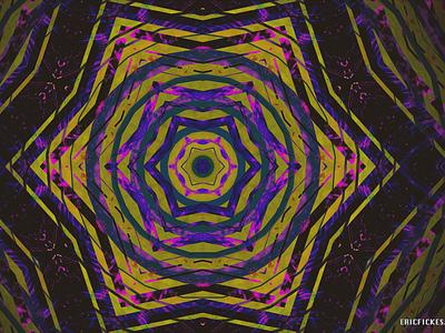 SIXTH DIP kaleidoscope codeart abstract digitalart ericfickes