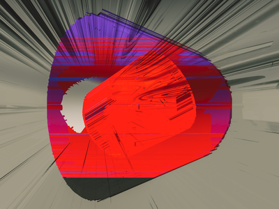 DEUX 2021 logo design fusion360 3d abstract digitalart ericfickes