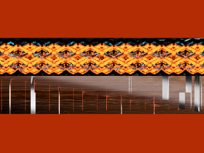 HELE - orange fusion360 codeart 3d processing abstract digitalart ericfickes