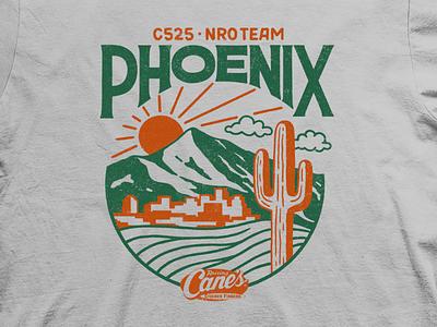 Phoenix Tee arizona phoenix t-shirt design t-shirt