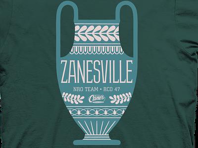 Zanesville, OH T-Shirt t-shirt illustration t-shirt design tee t-shirt