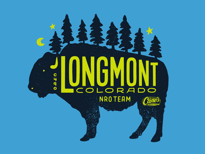 Longmont, CO Tee t-shirt design t-shirt tee illustration
