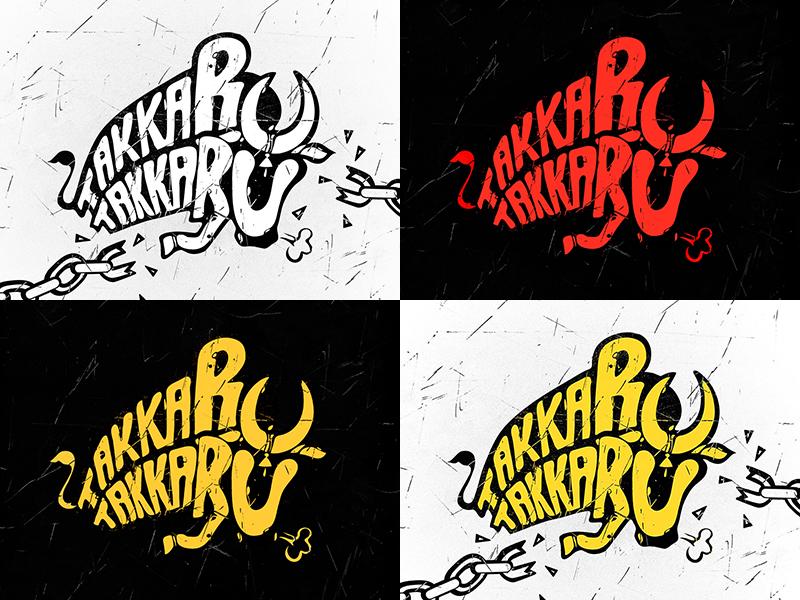 Hiphop tamizha takkaru takkaru title design by sivakumar s dribbble