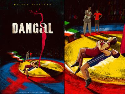 Dangal 2016 | FanArt Poster