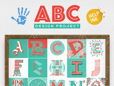 ABC Design Project: Letters for Charity