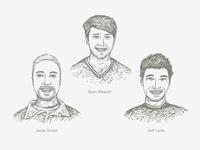 3 New Team Members: Ryan, Jesse, Jeff
