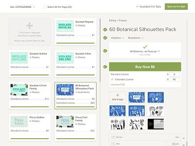 Bulk Uploader/Editor V3 ux ui design product tool admin editor products uploader bulk creative market