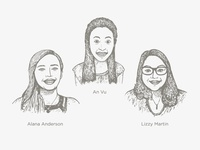 New CM Team Members: An, Alana, Lizzy