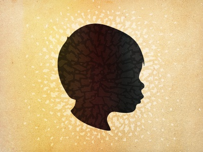 Ev Silhouette illustration play portrait silhouette