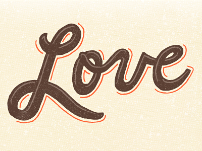 ...love. sp illustrated type soup love hand-type hand-crafted