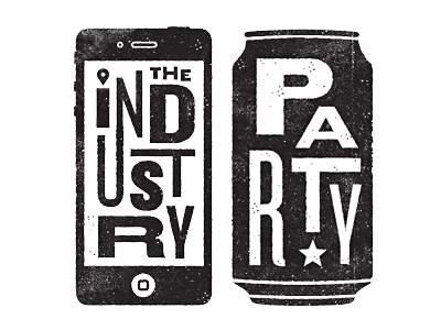 Industry party dribbble