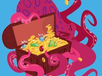 Grumpy Octopus