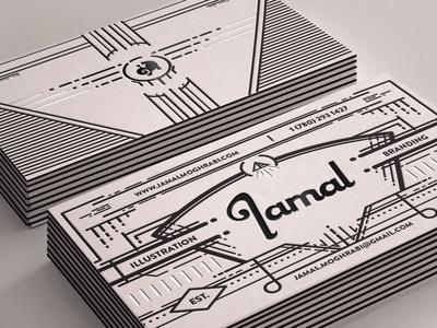 Jamal Business Cards