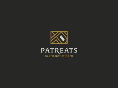 Patreats treat alcohol patreats gold branding logo