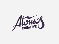 Atomos Handlettered
