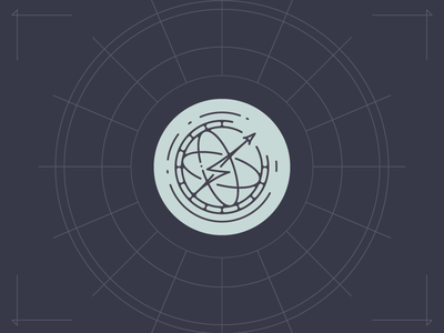 Atomos Creative Logo 2016/17 atom atomos creative branding logo bolt lightning thunder space rocket