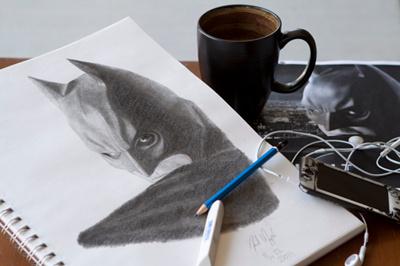 Batman Sketch drawing batman pencil sketch