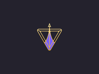 Atomos Creative 2019 blue identity logo vector space rocket logo branding brand purple black rocket atomos atom art deco