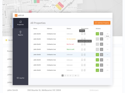 MVP Property Admin Dashboard