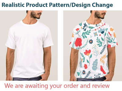 Product Pattern and Design Change body retouching background change color correction product pattern change logo branding graphic design