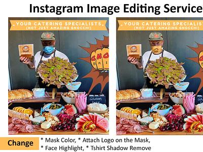 Social Media Post Image Editing Service breast enlargement graphic design
