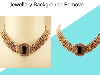 Jewellery Background Remove background enhancement