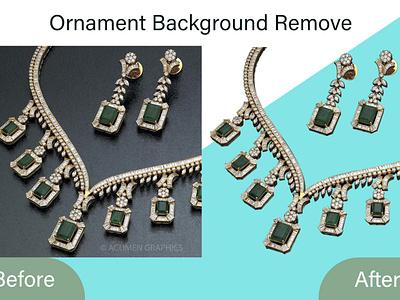 Ornament Background Remove background enhancement