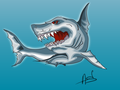 Shark Coloring