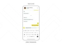 UI Challenge — Direct Messaging