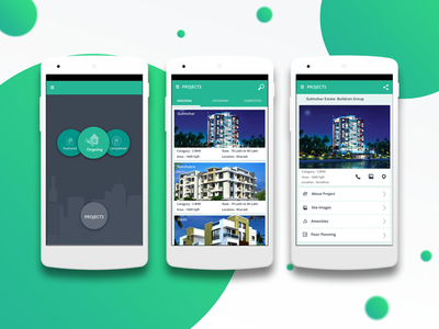 Real Estate App ux ui real estate android app