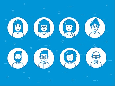 User Avatars illustration avatars