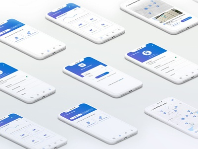 Smart Locker App ios app delivery ui  ux smartlocker app