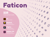 Faticon Line Icons Pack