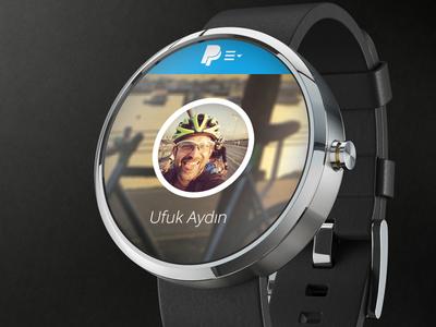 Paypal smartwach moto 360