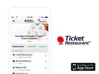 Ticket Restaurant – UI Design