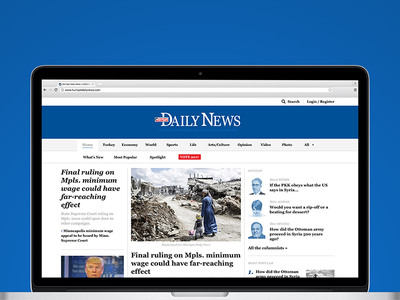 Hürriyet Daily News - Proof of concept